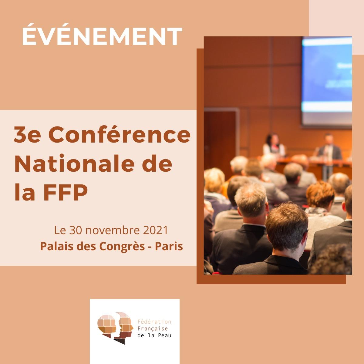 conférence nationale de la fédération française de la peau